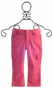 Persnickety Clothing Girls Skinny Capris in Coral