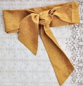 Persnickety Clothing Golden Sash for Girls