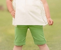 Persnickety Clothing Green Bermuda Short