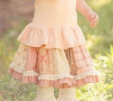 Persnickety Clothing Pink Paige Skirt for Girls