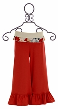 Persnickety Clothing Red Bell Pant for Girls