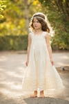 Persnickety Daffodils and Dandelions Eleanor Dress for Girls