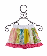 Persnickety Daffodils and Dandelions Paige Skirt for Girls (2,4,6,7)