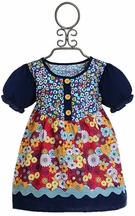 Persnickety Designer Floral Tunic for Girls