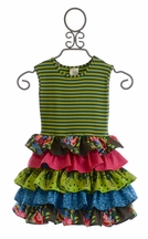 Persnickety Designer Girls Dress Macie Jane Forget Me Not (12Mos,18Mos,3,5,12)