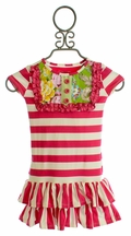 Persnickety Designer Little Girls Dress Lou Lou (12Mos,2,3)