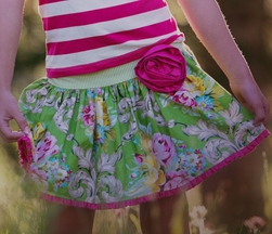Persnickety Designer Skirt for Girls Dolly