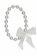 Persnickety Dottie Necklace in Ivory