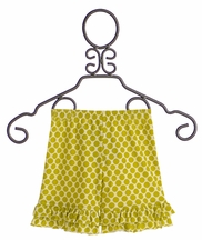 Persnickety Double Ruffle Shorts Forget Me Not (Size 12Mos)