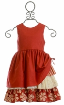 Persnickety Ellie Dress in Red (2,3,4,7)