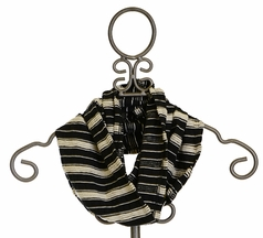 Persnickety Eternity Scarf in Black