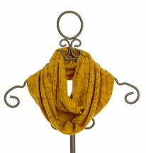 Persnickety Eternity Scarf in Gold (Size Tween)