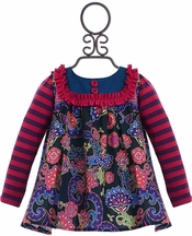 Persnickety Fancy Floral Top for Babies