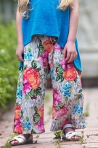 Persnickety Forget Me Not Attley Beach Pants for Girls