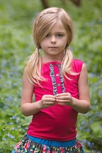 Persnickety Forget Me Not Charlie Tank Top for Girls