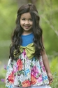 Persnickety Forget Me Not Rose Dress for Girls