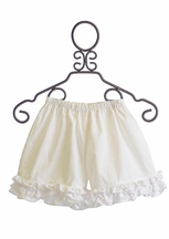 Persnickety Forget Me Not Ruffle Shorts in White (12Mos,18Mos,8)