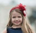 Persnickety Freedom Red Headband for Girls