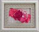 Persnickety Garden Party Headband in Rose