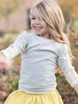 Persnickety Girls Long Sleeve Fannie Top (12 Mos & 18 Mos)