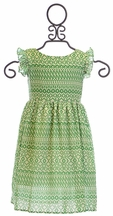Persnickety Girls Maddie Dress in Green (2 & 3)