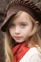 Persnickety Girls Newsboy Hat in Soft Brown