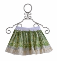 Persnickety Girls Reversible Skirt in Green (Size 10)
