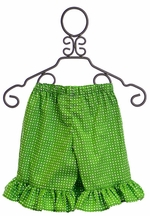 Persnickety Girls Shorts Mae in Green (2,3,6)
