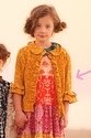 Persnickety Gold Stella Jacket for Girls