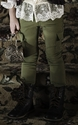 Persnickety Green Skinny Jean