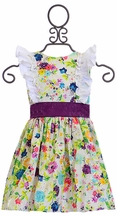 Persnickety Hopscotch Dress for Girls (2,3,4,5,6)