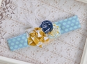 Persnickety Infant Sail Away Blue Island Headband