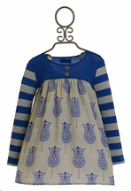 Persnickety Jolie Dress in Blue