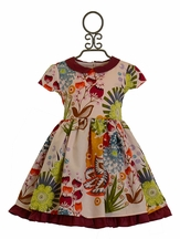 Persnickety Josephine Dress Into The Woods (18-24Mos,2T,10,12)