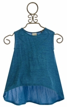 Persnickety Juliet Top for Girls Forget Me Not (12Mos,18Mos,2)