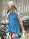 Persnickety Juliet Top for Girls Forget Me Not