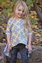 Persnickety Juliet Top in October Sky (Size 4)