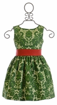 Persnickety Kate Dress in Green