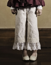 Persnickety Lace Gaucho Pant (12 Mos, 3, 8)