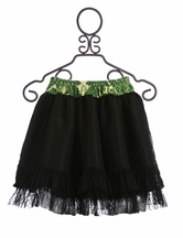 Persnickety Leah Black Lace Skirt