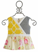 Persnickety Little Girls Designer Top Nina (12Mos,18Mos,2)