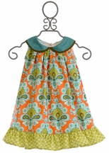 Persnickety Little Girls Dress Isabelle Sweet Pea
