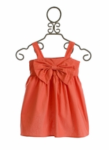 Persnickety Little Girls Jumper in Orange Madelyn