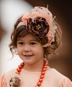 Persnickety Little Girls Pink Vintage Headband