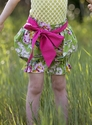 Persnickety Little Girls Sash in Pink