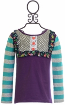 Persnickety Lou Lou Top Plum Crazy (2 & 10)