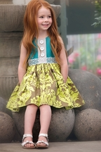 Persnickety Maggie Dress for Little Girls