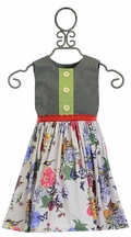 Persnickety Maggie Wildflower Girls Dress