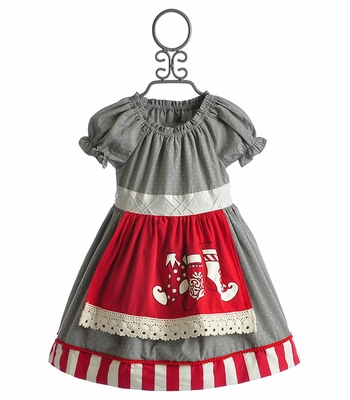 Persnickety Maitlyn Christmas Dress for Girls