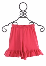 Persnickety Marley Shortie Double Ruffle Shorts for Girls